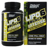 Nutrex-Lipo 6 Black INTENSE, 60caps