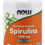 now foods- Spirulina  1000 mg, 120 kapsulas