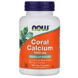 now foods - Coral Calcium, 1000 mg, 100 kapsulas