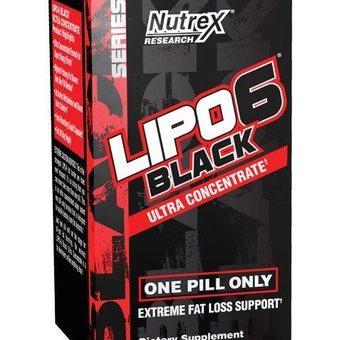 Nutrex-Lipo 6 Black,Ultra concentrated,  60caps._main_image