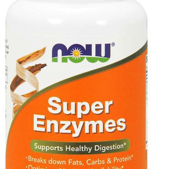 now foods- super enzymes, 90 tablets_main_image